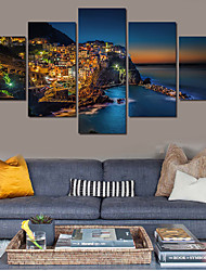 cheap -5 Piece(No Frame) Islands Modern Home Wall Decor Canvas Picture Art HD Print Painting On Canvas For Living Room