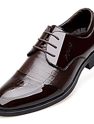 cheap -Men's Shoes Amir 2018 New Style Hot Sale Office & Career / Casual Patent Leather Oxfords Black / Brown