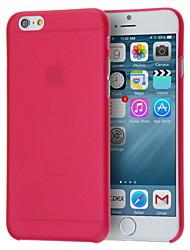 Недорогие -тренажерный зал ультра-тонкий полупрозрачный задняя крышка для iphone 6с 6 плюс