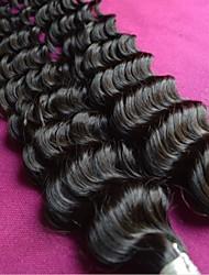 Недорогие -оптовые бразильские глубокая волна девственные волосы смешанные 6bundles много ранга 8а естественный цвет необработанный бразильские