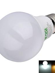 YWXLIGHT® 600 lm E26/E27 LED kulaté žárovky A60(A19) 16 lED diody SMD 2835 Ozdobné Teplá bílá Chladná bílá AC 100-240V