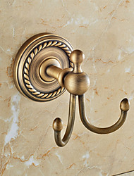 Robe Hook / Antique Copper Brass /Traditional