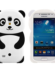 cheap -Lovely 3D Animal Shaped Panda Bear Silicon Soft Mobile Phone Case Cover Back Skin For Galaxy S4 mini/S3min