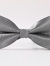 cheap -Men's Party/Evening Wedding Formal Silver Box Formal Bow Tie
