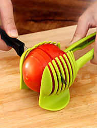 cheap -1pc Lemon Tomato  Potato  Fruit Slicer High Quality Kitchen Gadgets Use Everyday