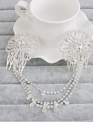 Women's Rhinestone Headpiece-Wedding Special Occasion Casual Office & Career Outdoor Head Chain 1 Piece