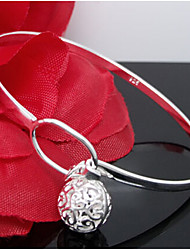 Lucky Doll Women's All Matching Silver Plated Geometric Bracelet Christmas Gifts
