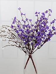 Недорогие -высокое качество wintersweet цветок шелк цветок искусственные цветы для украшения дома цветок kit1pc / комплект