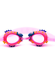 Swimming Goggles Anti-Fog Waterproof Silica Gel PC Red Pink Blue Dark Blue Red Pink Blue Dark Blue