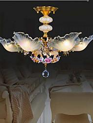 baratos -40W Lustres ,  Tradicional/Clássico / Rústico/Campestre / Vintage / Retro / Rústico Pintura Característica for LED CerâmicaSala de Estar