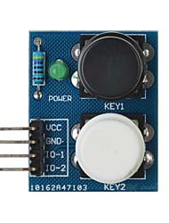 2-независимый ключ датчика сенсорной кнопки модуль для Arduino + Raspberry Pi - синий