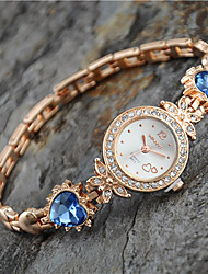 cheap -Women's European Style New Fashion Rhinestone Heart Bracelet Watches Cool Watches Unique Watches