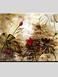 cheap -Stretched Canvas Art Flower Style Children Painting 60*90CM