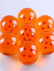 Недорогие -3.5cm дракона диаметр шарика семь дракона комплект мяч гараж
