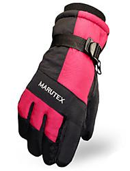 abordables -Gants de ski Homme Garder au chaud Pare-vent Patinage Ski alpin Sports de neige Hiver Printemps Automne