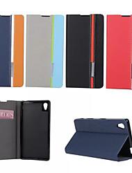 Недорогие -ретро моды люкс кожа флип кошелек стенд чехол для Sony Xperia t3 / z1mini / z3mini / z1 / z3 / z4 / м2 / m4 / c4 / e4