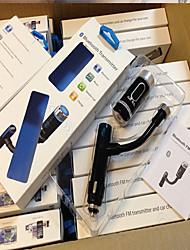 trasmettitore F33 vivavoce bluetooth FM supporta nuovo caricatore auto A2DP
