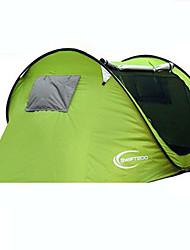 baratos -KEUMER 3-4 Pessoas Tenda Barraca de acampamento Um Quarto Barraca pop-up Anti-Insectos Ultra Leve (UL) para CM