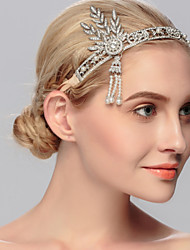 Rhinestone Tiaras Headpiece Wedding Party Elegant Feminine Style