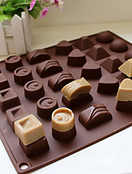 cheap -Mold For Candy For Chocolate For Cake Silicone Eco-friendly DIY 3D