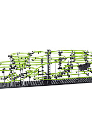 spacerail Level 5 233-5 30M DIY KIT Toy Cars Marble Track Sets Building Kit Coaster Toys Erector Set Toys ABS Soft Plastic Plastic Metal