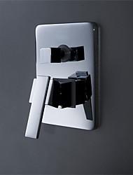 douche à encastrer double fonction vanne de mélange d'eau