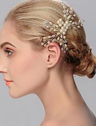 Недорогие -имитация жемчужных волос расчесывает головной убор классический женский стиль