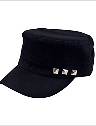 Newest Korean Casual Cotton Flat Cap Rivet