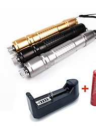 LS1663 High Quality 10mw 305 Laser Pointer  Burning Laser Presenter Green Laser Pointer +18650 Battery+US Charger