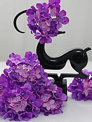 cheap -Artificial Flowers 5 Branch Modern Style Hydrangeas Tabletop Flower