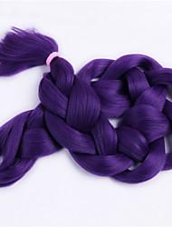 baratos -Tranças de caixa 100% cabelo kanekalon Extensões de Cabelo Natural Tranças Jumbo Tranças de cabelo Diário