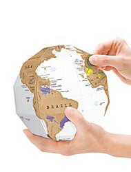 geekfun zero mapa do globo 3d puzzles