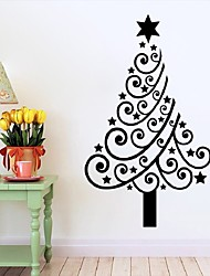 cheap -Arrival Merry Christmas Tree Wall Stickers Vinyl Home Wall Decor Decals Quality First
