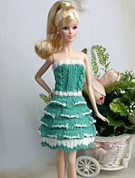 ドレス ために バービー人形 ドレス ために 女の子の 人形玩具