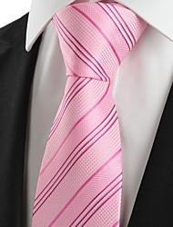 povoljno -Muškarci Prugasti uzorak Vintage Slatko Zabava Posao Ležerne prilike Pamuk Umjetna svila Poliester - Kravata