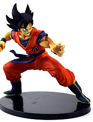 "cheap -Japanese Anime Dragon Ball Z Figures The Monkey King Goku PVC Action Figure Cartoon Toy 6""15CM"