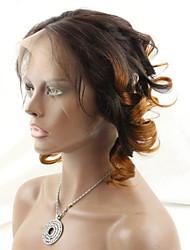 Недорогие -Классика Волнистый Натуральные волосы Бесплатный Часть Средняя часть 3 Часть Высокое качество Повседневные