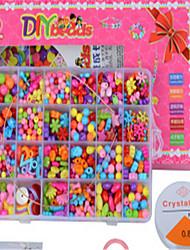 Недорогие -дети амблиопии ручной работы из бисера украшения поделок плетут браслеты детские развивающие игрушки материальные подарки оптовые шарик