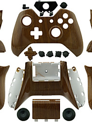 cheap -Replacement Controller Case for Xbox One Controller (Wood Grain)