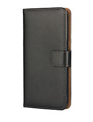 economico -Custodia Per Samsung Galaxy Samsung Galaxy S7 Edge A portafoglio / Porta-carte di credito / Con supporto Integrale Tinta unita pelle sintetica per S7 edge