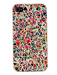 Til iPhone X iPhone 8 iPhone 8 Plus iPhone 5 etui Etuier Mønster Bagcover Etui Geometrisk mønster Hårdt PC for iPhone X iPhone 8 Plus
