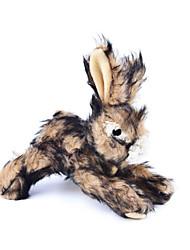 economico -Giocattolo per gatti Giocattolo per cani Giocattoli per animali Peluche Squittiscono Rabbit Per animali domestici