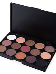cheap -15 Colors 5in1 Smoky Eyeshadow/Makeup Base Primer/Foundation/Blusher/Bronzer Professional Cosmetic Palette Earth Tone