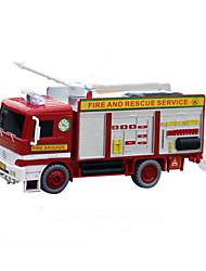 Недорогие -пожарная машина мыльные пузыри пластиковый красный музыкальный игрушка для детей