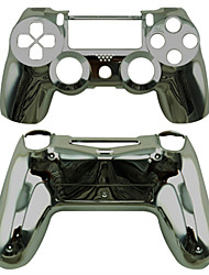 cheap -Replacement Controller Case for PS4 Controller PS4 Case Plating (Golden/Silver/Black)