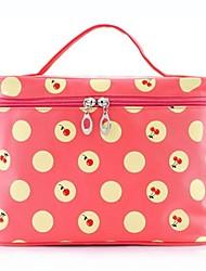 Aufbewahrung für Make-Up Kosmetik Tasche / Aufbewahrung für Make-Up Nylon Blume / Spot Quadratisch 20*9*14 Rot / Lila / Rosa