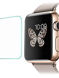 voordelige -Screenprotector Voor Apple Watch 42mm Gehard Glas 2.5D gebogen rand 9H-hardheid 2 pcts