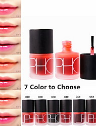 cheap -Liquid Blush Lip Gloss 1 pcs Dry / Wet / Matte Waterproof / Fast Dry / Moisture Makeup Cosmetic Grooming Supplies