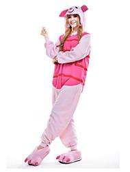 cheap -Animal Kigurumi Pajamas Unisex Adults' Christmas Halloween Carnival New Year Festival / Holiday Halloween Costumes Pink