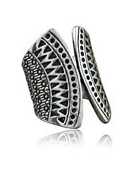 Ringe Damen / Unisex Ohne Stein Legierung Legierung 8 SilberFarbe & Stil Darstellung variiert je nach Monitor. Nicht verantwortlich für
